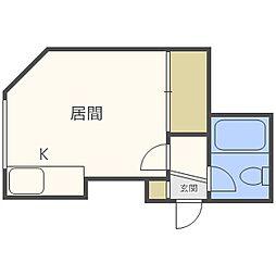 苗穂駅 2.1万円