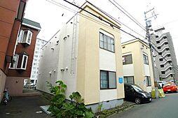 北海道札幌市西区二十四軒四条7丁目の賃貸アパートの外観