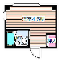 菅栄町レディースマンション[5階]の間取り
