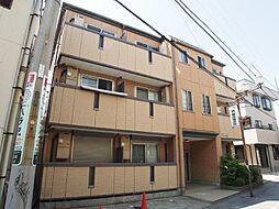 埼玉県越谷市赤山町1丁目の賃貸マンションの外観