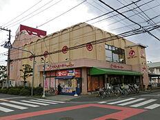 ベニースーパー佐野店(537m)