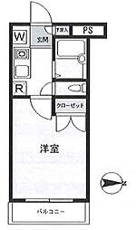 スカイコート馬込 bt[104kk号室]の間取り