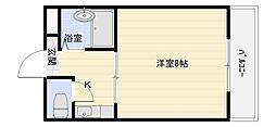 春日町西田マンション[2階]の間取り