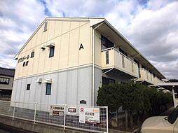 岡山県倉敷市児島田の口7丁目の賃貸アパートの外観