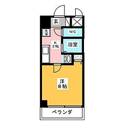 ヤマトマンション大須V[4階]の間取り