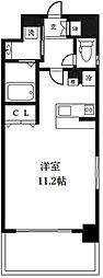 エヴァステージ梅田WEST[705号室]の間取り