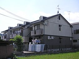 京都府京都市北区西賀茂柿ノ木町の賃貸アパートの外観