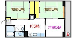 JR京葉線 葛西臨海公園駅 徒歩21分の賃貸マンション 3階3Kの間取り