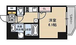 エステムコート梅田北2ゼニス[6階]の間取り