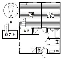 プレステージ大胡I[1階]の間取り
