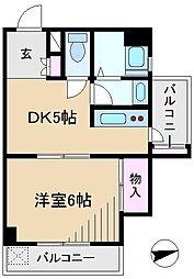 第2霜勘ビル[4階]の間取り