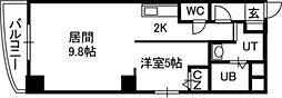 プルミエール札幌[303号室]の間取り