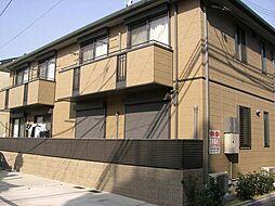 大阪府大阪市東住吉区山坂3丁目の賃貸アパートの外観
