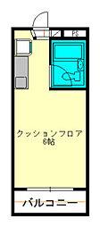 モナークマンション二俣川リバーサイド[4階]の間取り