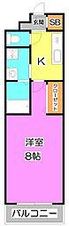 プレジール 〜plasir(喜び)〜[1階]の間取り