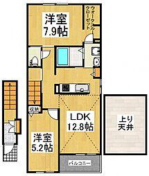 live−T[2階]の間取り