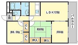 バーバリーコート[3階]の間取り