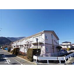 長野県千曲市上山田温泉4丁目の賃貸アパートの外観