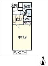 GRACIOUS F-PLACE[1階]の間取り