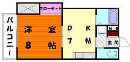 リクトール2[4階]の間取り