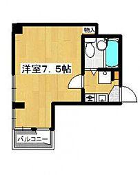 共立リライアンス上野町I[4階]の間取り