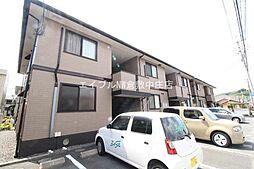 岡山県岡山市北区花尻ききょう町の賃貸アパートの外観