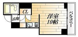 第7片山ビル[704号室号室]の間取り