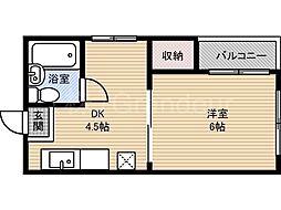 第二田代マンション[2階]の間取り