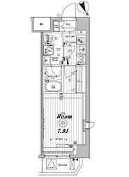 メイクスデザイン東向島[3階]の間取り