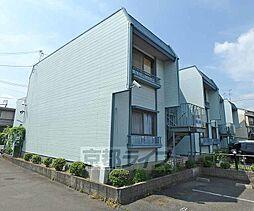 京都府京都市西京区牛ヶ瀬川原口町の賃貸アパートの外観