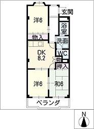 シグマ 178[1階]の間取り