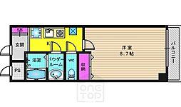 リノ若宮[1階]の間取り