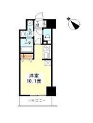 TKフラッツ渋谷[9階]の間取り
