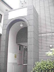 東京都新宿区赤城下町の賃貸マンションの外観