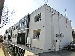 滋賀県栗東市綣9丁目の賃貸アパートの外観