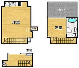 是空HORIKAWA[106号室号室]の間取り