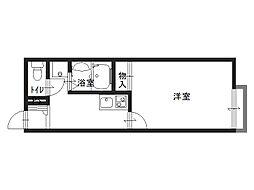 レオネクスト京田辺[2階]の間取り