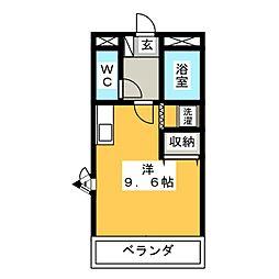 サンライトoshizawa[2階]の間取り