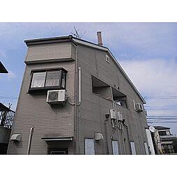 奈良県生駒市あすか野南1丁目の賃貸アパートの外観