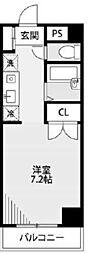 クレセントKOYO[3階]の間取り