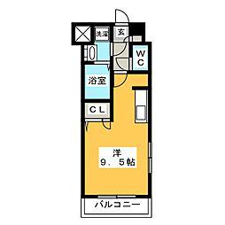 アクアシティ博多サウスステーション[3階]の間取り