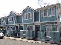 東京都青梅市二俣尾3丁目の賃貸アパートの外観