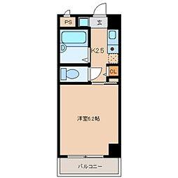 プレミールメゾン[4階]の間取り