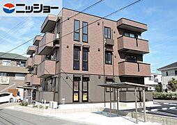 愛知県西尾市吉良町上横須賀宮腰の賃貸アパートの外観