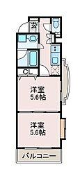 日神デュオステージ町田[3階]の間取り