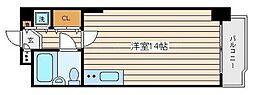 三枝ビル[8階]の間取り