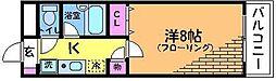 ツインアレー[2階]の間取り
