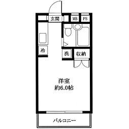 TSハイム[1階]の間取り