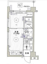 神奈川県川崎市麻生区高石3丁目の賃貸マンションの間取り