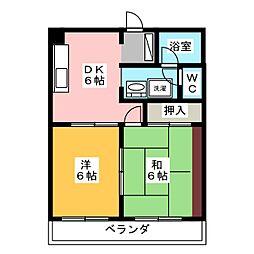 プログレスI[1階]の間取り